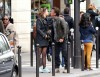 Sean Penn Kisses Adele Exarchopoulos Goodbye After Lunch