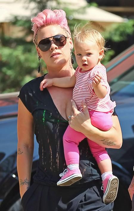 Pink Talks Motherhood, is Still Flawlessly Adorable