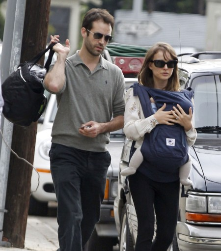 Natalie Portman Can't Control her Vegan-Hating Son, Aleph 0608