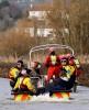 Prince Charles Surveys Floods In Somerset