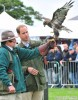 Prince William Handles A Falcon