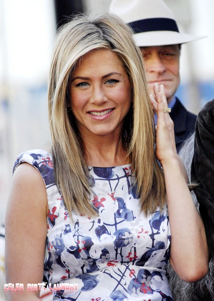 Jennifer Aniston Pushes Penises and Promises Breasts In 'Wanderlust