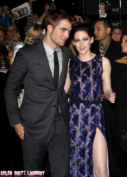 Robert Pattinson and Kristen Stewart Are In Love Says Co-Star & It's Nobody's Business