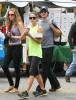 Nikki Reed & Ian Somerhalder Visit The Farmer's Market