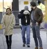 Stars On The Set Of 'Mississippi Grind'
