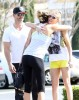 Exclusive... LeAnn Rimes & Eddie Cibrian Lunch In Calabasas