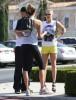 Exclusive... LeAnn Rimes & Eddie Cibrian Lunch In Calabasas