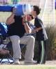 LeAnn & Eddie Watching His Son's Soccer Game