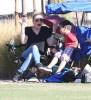 LeAnn Rimes Takes The Cibrian Boys To Their Soccer Game