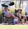 LeAnn & Eddie Watching Mason's Soccer Game