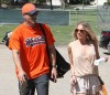 LeAnn Rimes & Eddie Cibrian Enjoy A Baseball Game