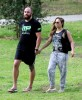 Exclusive... Ronda Rousey And Travis Browne Out And About In Hollywood