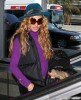 Paulina Rubio Departing On A Flight At LAX