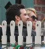 Paulina Rubio & Gerardo Bazua Out For Lunch At The Ivy