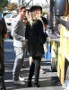 Scott Disick & Khloe Kardashian Film At The Grilled Cheese Truck
