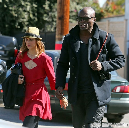 Meet Seal's New Girlfriend, Red Widow's Erin Cahill - And See The PDA