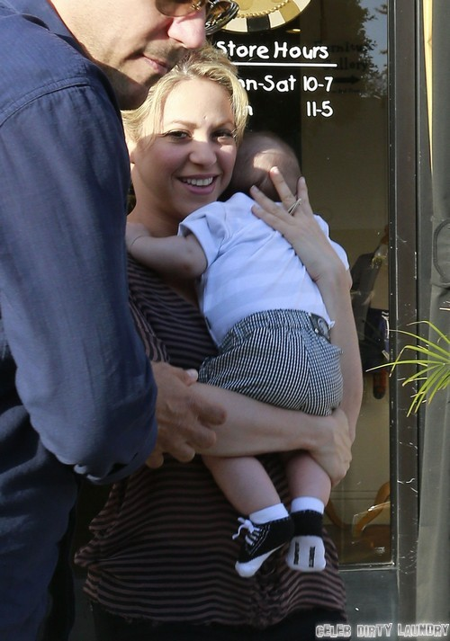 Shakira: I'm Going To Breastfeed Milan Until He Goes To College