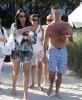 Simon Cowell & Lauren Silverman Enjoy The Beach In Miami