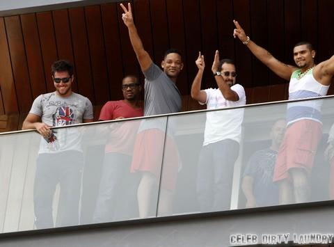 Will Smith Gay Rumors Surface Again - Man Time In Rio De Janeiro (Photos)