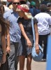 Exclusive... Willow Smith Hanging Out With Friends At The Flea Market