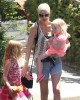 Semi-Exclusive... Tori Spelling & Kids Stop By A Friends House