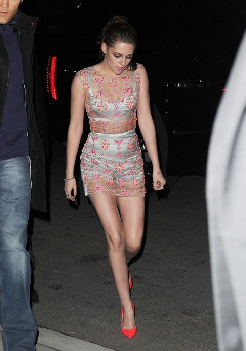 Kristen Stewart Appears in Her Underwear for On The Road Premiere - Rounds off the Week's Fashion Faux Pas (Photos)