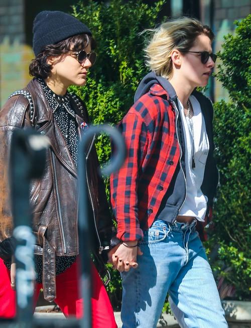 Kristen Stewart & Soko Walk Hand In Hand In NYC