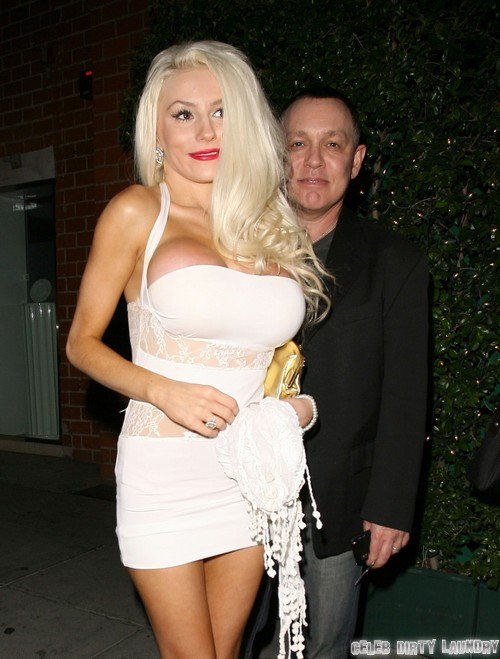 Courtney Stodden & Doug Hutchinson Dine Out At Mr Chow