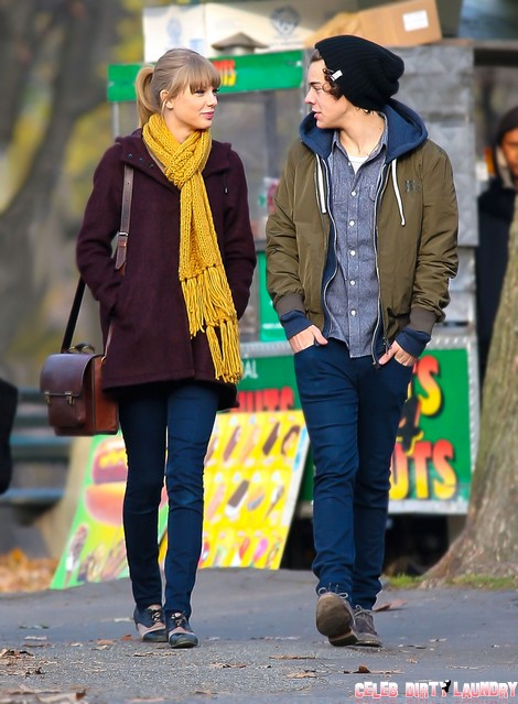 Harry Styles And Taylor Swift Spend A Romantic Day In The Park