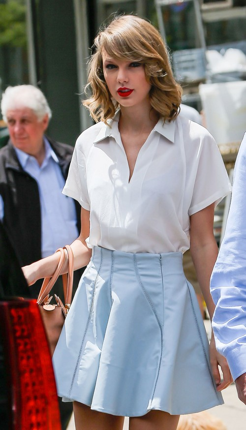 Taylor Swift Leaving A Gym In New York City