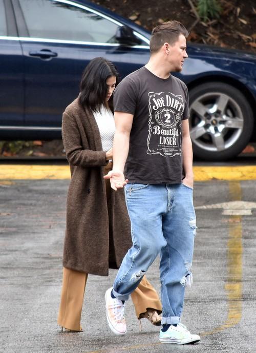 Channing Tatum & Jenna Dewan Tatum In Studio City