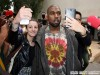 Kanye West Attends Celine Fashion Show at Tennis Club in Paris