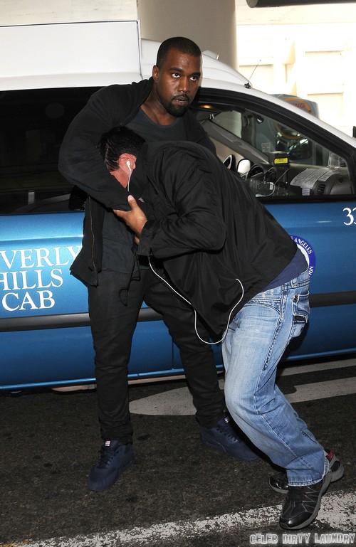 Kim Kardashian's BFF Jonathan Cheban Refused As North West's Godfather By Kanye West