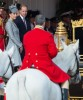 Prince William & Kate Watch The Horse Guards Parade