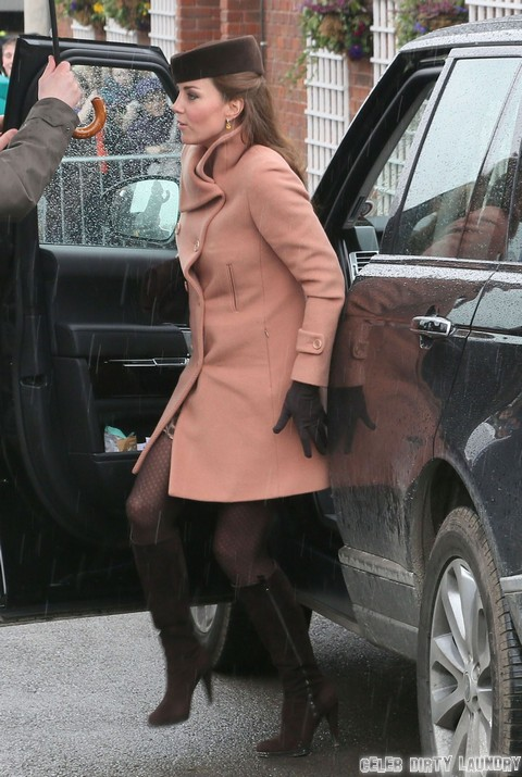 William & Kate Visit The 2013 Cheltenham Festival