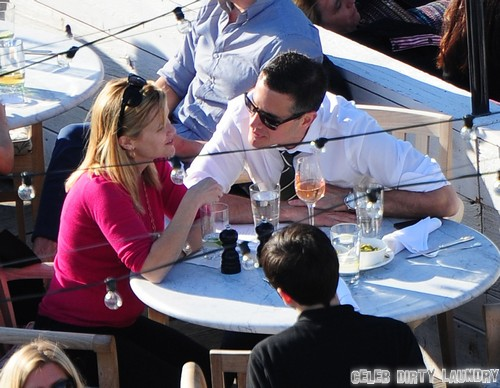 Reese Witherspoon Amp Jim Toth Have Drinks In Nyc Celeb