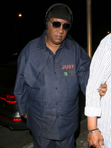 Kai Millard Morris to take Half of Stevie Wonder's Assets in Nasty Divorce