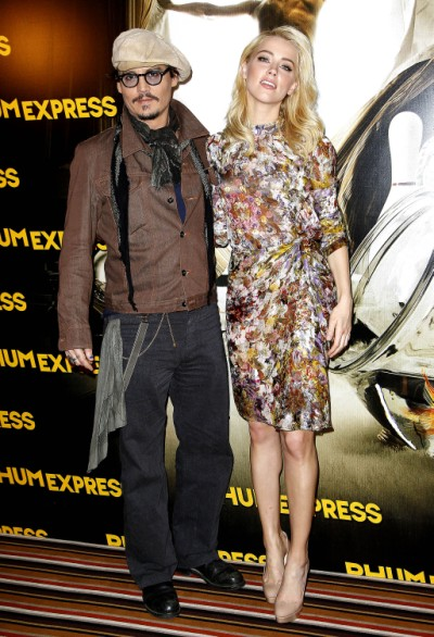 Amber Heard Breaks Up With Johnny Depp Already! 0719