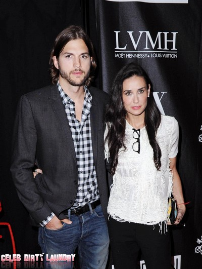 Demi Moore Drags Ashton Kutcher To Bruce Willis' For Marriage Therapy