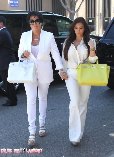 Sex Tape Release Caused Kim Kardashian And Kris Jenner To Cry In Each Other's Arms For Days