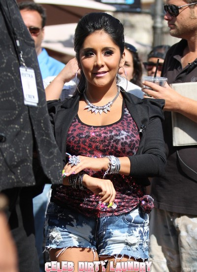 Snooki Claims Arrest Story False - She Wasn't On Jersey Shore Today Anyway
