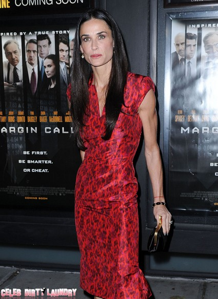 Demi Moore NOT in Rehab At Cirque Lodge in Utah