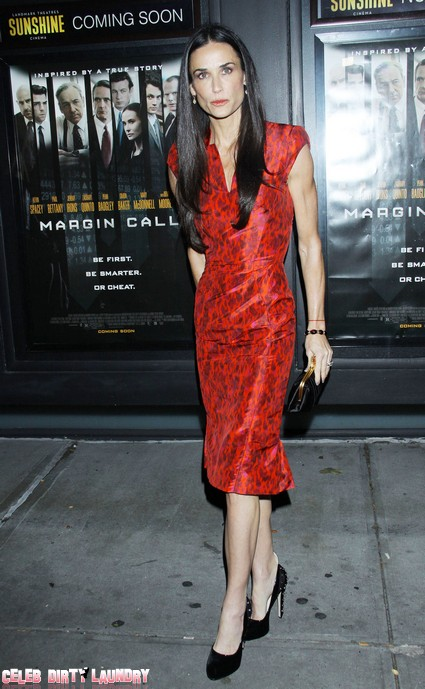 Demi Moore Freaking Out Over Losing 'Lovelace' Role
