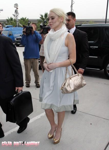 Lindsay Lohan Blames 'Male-Dominated World' For Her Bad Behavior