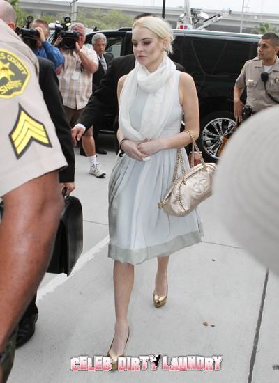 Lindsay Lohan Back On Crack - Misses Morgue Date