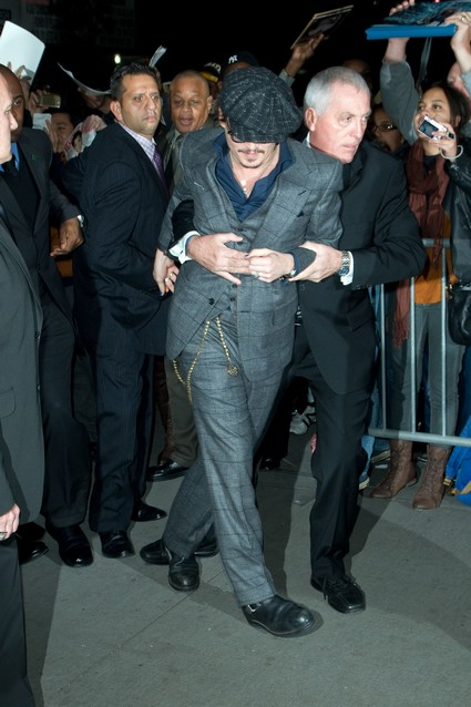 Johnny Depp's Bodyguards Injure Handicapped Woman