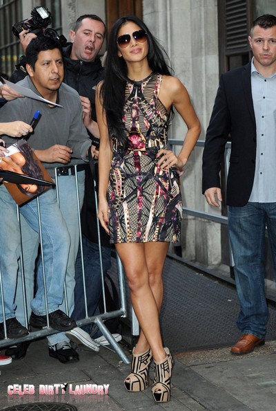 The X Factor USA's Nicole Scherzinger NOT Anorexic