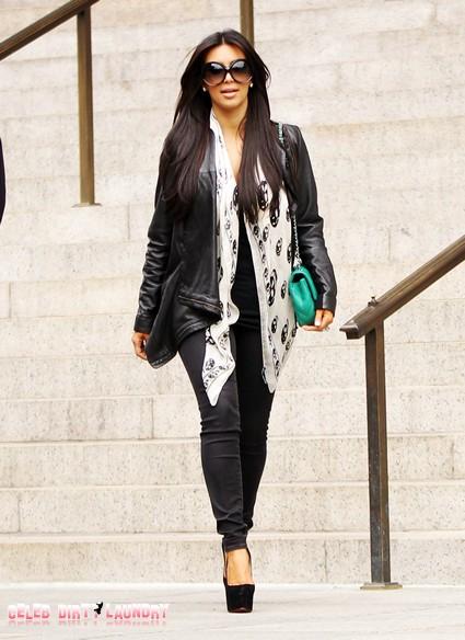 Desperate For Good Press Kim Kardashian Takes Charity Trip To Haiti