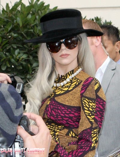 Lady Gaga Prefers To Pee In Garbage Cans