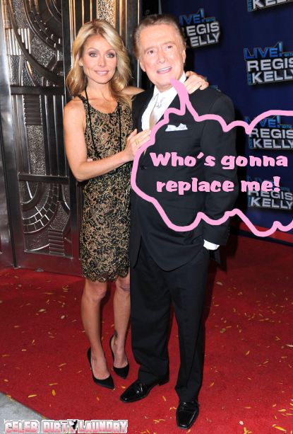Kelly Ripa Continues The Search For New Co-Host -- Can She Find A 'Regis' Replacement?